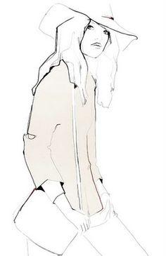 Garance Dore...fashion Illustration My first artistic love! I miss those days!