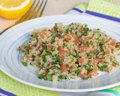 Taboulé de quinoa aux raisins secs, menthe et citron : http://www.fourchette-et-bikini.fr/recettes/recettes-minceur/taboule-de-quinoa-aux-raisins-secs-menthe-et-citron.html