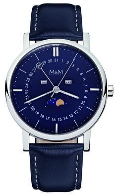 Mondphasen Uhr M&M Germany