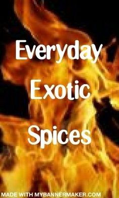 Everyday spices for everyday cooking.  Everyone knows use of the right herbs and spices can turn a bland meal into a sumptuous exotic dining experience.    One-stop...