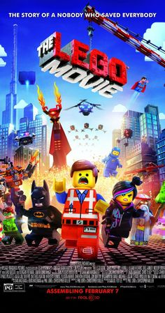 The Lego Movie (2014)  An ordinary LEGO minifigure, mistakenly thought to be the extraordinary MasterBuilder, is recruited to join a quest to stop an evil LEGO tyrant from gluing the universe together.