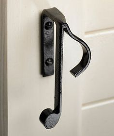 What's a better way to show off your love of music than with notes as your cupboard handles
