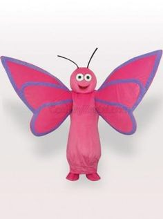 Butterfly Adult Mascot Costume - all the mascot costumes are global free shipping at http://www.cosplayzentai.com