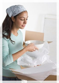Using the correct boxes will speed up your move - saving you money & help avoid damage - saving you heartache!