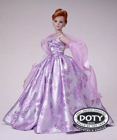 """Kitty Collier (18"""") - Lilac Cotillion, 2002, dressed doll, Robert Tonner"""