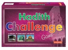 The Hadith Challenge Game is a unique game based on sayings of the Prophet Muhammad. The idea behind this game is to provide the children with both fun and education. All questions are based on the authentic sayings of the Prophet Muhammad. They have been creatively worked into this game and children will enjoy answering them. This game can be played at school or at home with all the family members. Begin your journey and find out what fun it is to learn from the Hadith.