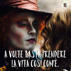 La vita.  --- #cappellaiomatto #madhatter #alice #ilpaesedellemeraviglie #wonderland #serendipity #nofilter #tumblr #frasitumblr #frasi #aforismi #vita #follia #felicità #love #amazing #smile #love #adorable #kiss #hugs #romance #forever #together #goodnight #goodvibes #night #dream #smile #xoxo