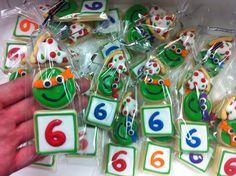 Mini Ninja Turtle cookie 3 packs!  HayleyCakes And Cookies