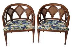 Micentury Diamond-Back Chairs, Pair on OneKingsLane.com