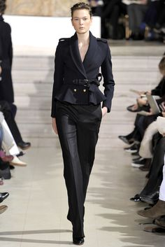 Bouchra Jarrar Spring 2012 Couture Fashion Show - Irina Kulikova