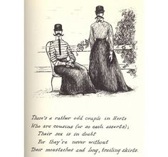 "from ""the listing attic"" - edward gorey, 1954"