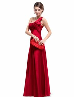 Ever Pretty NWT Open Back One Shoulder Ruffles Padded Satin Prom Dress 09667, HE09667RD16, Red, 14US Ever-Pretty,http://www.amazon.com/dp/B0072QYIEY/ref=cm_sw_r_pi_dp_3L0rsb134V7WGGKB