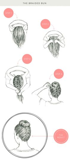 Braided bun tutorial: http://www.stylemepretty.com/living/2013/05/16/how-to-braids-three-ways/ | Photography: KT Merry - http://www.ktmerry.com/