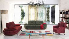 Verona Modern Koltuk Takımı Outdoor Furniture Sets, Outdoor Decor, Verona, Curtains, Modern, Home Decor, Blinds, Trendy Tree, Interior Design
