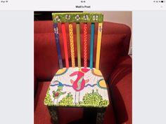 German troll chair