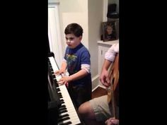 Ethan W and Piano Man—My cousin's 6-year old autistic son plays piano better than ... well, Billy Joel, himself. (So says MSNBC, The Huffington Post, CNN, Gawker, etc.)