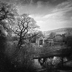 The Priory from the South, Bolton Abbey, Yorkshire