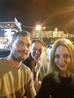 NEW: Fan Pictures of #JamieDornan in NI   Pic Credit to the owner