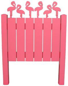 Flamingo headboard :)