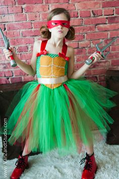 Hey, I found this really awesome Etsy listing at https://www.etsy.com/listing/181472422/ninja-turtles-infant-to-girls-tutu-dress