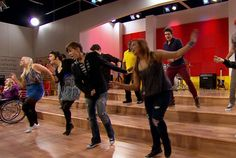 DANCE-ABILITY: The contenders dance their heart out for Samuel. #TheGleeProject