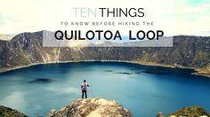 GUIDE TO THE QUILOTOA LOOP ECUADOR