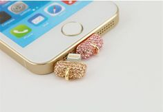 IPhone 5S/5 Anti Dust Data Cable Cap Plug charge by swarovskiphone, $12.99