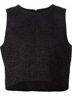Women's New In 2015 - Farfetch Proenza Schouler - Cropped Chiffon Top Proenza Schouler, Amazing Women, Chiffon Tops, Ideias Fashion, Vest, Tank Tops, Sweaters, Shopping, Clothing