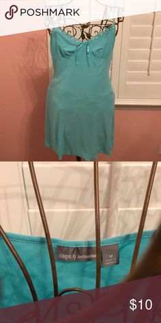 Turquoise Nightgown M Medium turquoise nightgown by apt. 9 intimates. Apt. 9 Intimates & Sleepwear Pajamas
