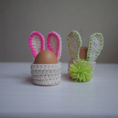 Crochet PATTERN Easter bunny egg cozy basket kids by byaccessorise