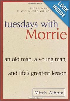 Tuesdays with Morrie    #ALS #LouGehrigsDisease #MeBecomesWe