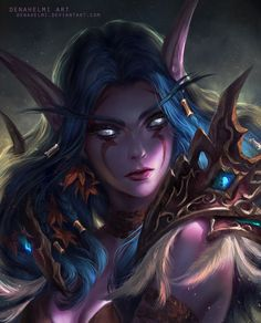 Night elf Daily World of Warcraft Art Board ^^ // Blizzard // wow // Hearthstone // Geek World Of Warcraft, Art Warcraft, Warcraft Characters, Fantasy Characters, Female Characters, Bayley Instagram, Wow Elf, Character Inspiration, Character Art