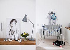 Baby boy's room, Photo by Krista Keltanen via MRS JONES: HANNAN KOTI KOTILIEDESSÄ