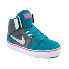 71a23aba244 Shop for Tween Nike Ruckus Hi Athletic Shoe in Teal Gray at Journeys Kidz.  Shop
