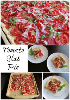This Tomato Slab Pie is a perfect way to showcase your summer harvest ...