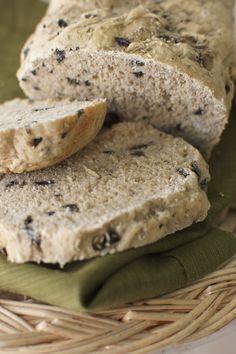 Whole Wheat Fat-Free Vegan Rosemary Olive Bread Recipe   Happy Herbivore