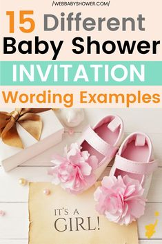 15 Different Baby Shower Invitation Wording Examples Need some tips and baby shower invitation wording examples to bounce off of? These 15 different baby shower invitation wording templates and examples will have you writing yours with ease! Free Baby Shower Printables, Baby Shower Invitation Wording, Virtual Baby Shower, Baby Sprinkle, Baby Shower Games, Baby Shower Decorations, Things That Bounce, Templates, Writing