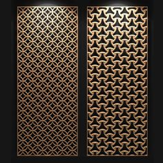 Laser Cut Screens, Laser Cut Panels, Laser Cut Lamps, Living Room Partition Design, Room Partition Designs, Pattern Wall, Jaali Design, Cnc Cutting Design, Door Gate Design
