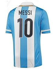 Adidas Argentina MESSI Home 2011 Replica Soccer Jersey (Columbia Blue/White)