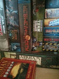 Another game shelf!
