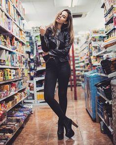 Supermarket shoot  #model #photography #shooting #supermarket #barcelona #juangimenez