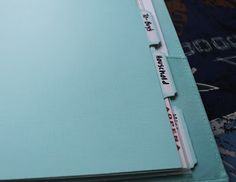 How to make a home binder and stay organized without getting overwhelmed. Good to know!!