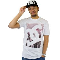 T-shirt DC Shoes Curb Appeal white