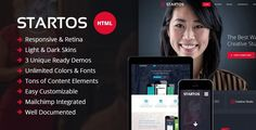 ThemeForest - Startos - Responsive HTML5 Landing Page  Free Download