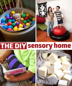 great ideas for sensory needs