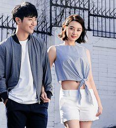 "kimwoobinseyebrows: "" ""Jin Goo & Kim Ji Won for Grazia "" "" Korean Celebrities, Korean Actors, Celebs, Song Hye Kyo, Song Joong Ki, Desendents Of The Sun, Bh Entertainment, In The Air Tonight, Jin Goo"