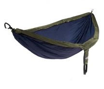 ENO - Eagles Nest Outfitters DoubleNest Hammock, Portable Hammock for Two, Forest/Charcoal (FFP)
