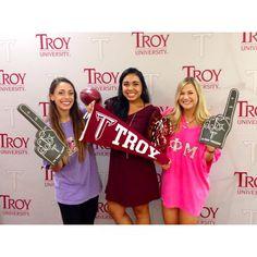 We're so TROY! #TROYUspirit