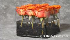 * Rose Centerpiece ~ step by step instructions for a professional look