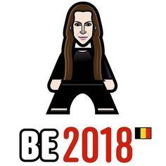 Minipop of Belgium Belgium Eurovision, Big Songs, Aurora Sleeping Beauty, Fan, Photo And Video, Musica, Songs, Hand Fan